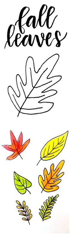 Doodle It: 7 Ways to Draw Fall Leaves