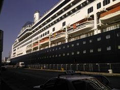 The Rotterdam wow what a way to travel what a ship