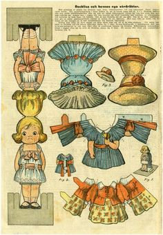 Bobe Green  Picasa ~~ Nettalbum.  Do You Remember Paper Dolls? Print this on cardstock and enjoy this old time favorite with a child.