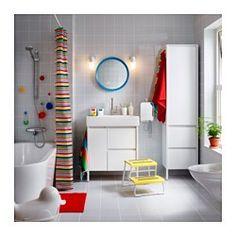 YDDINGEN Élément lavabo, blanc - blanc - IKEA