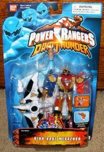 "Amazon.com : Power Rangers Dino Rage 5.5"" Megazord Action Figure : Collectible Action Figures : Toys & Games"