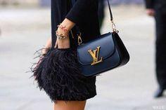Inspiration: beautiful black bags
