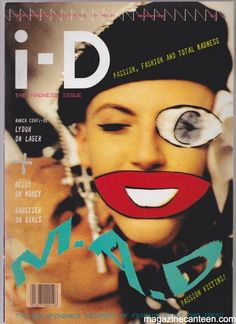 I-D Magazine 34 March 1986 – Scarlett and Judy Blame – magazine canteen. Cover model: Scarlett Cannon and Judy Blame by Marc LeBon 4 page interview with John Lydon Iconic editorial with Scarlett and Judy Blame by Jeny Howorth Condition: Excellent Foto Magazine, Magazine Editorial, Magazine Art, Time Out Magazine, Issue Magazine, Id Cover, Cover Model, Art Magazin, Magazine Cover Design