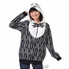 New Japan Disney Store Halloween Nightmare before Jack Parka Hoodie Japan M #JapanDisneyStoreNarikiri