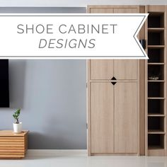 Beautiful design ideas for your shoe cabinets Shoe Cabinet Design, Shoe Cabinets, Rack Design, Next At Home, Home Renovation, Shoe Rack, Tall Cabinet Storage, Design Ideas, Projects
