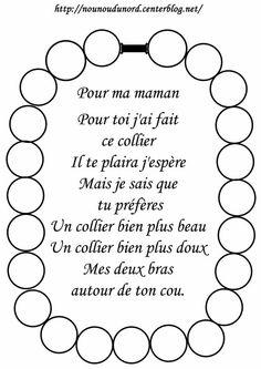 poesie fete des meres maternelle - Recherche Google: