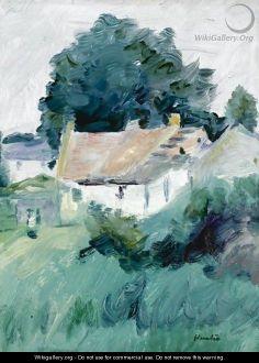 Cottages In Fife - George Leslie Hunter