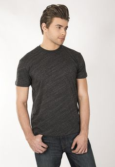"""Men's Vintage Heather Crew. 20'S Tri-blend 38% Cotton 50% Polyester 12% Rayon pre-shrunk, garment washed with enzymed for softness. Use Promo Code """" JSFRIENDS """" during purchase and get 20% off. www.jsapparel.net All JS Apparel garments made in USA."""