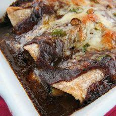 Vegetable Enchiladas with Chile Gravy Recipe