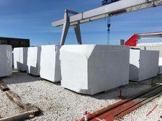 Italian Bianco Carrara Marble Rough Blocks