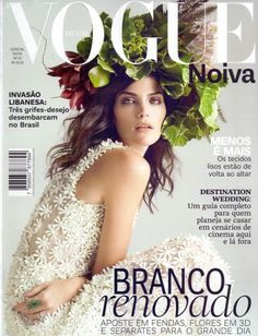Luciana Curtis for Vogue Noiva Brazil May 2015