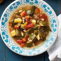 Vegetable Soup Provencal -- vegan (just use veggie broth)