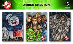 Ghostbusters trading cards sketch previews part 7 | Cryptozoic Entertainment