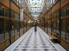 les plus beaux passages couverts parisiens