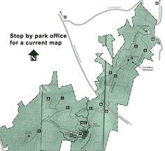 Crowders Mountain Trail Map.