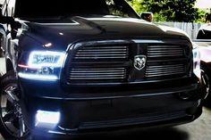 Dodge Ram (Non-Sport) Oracle Halo Headlights at NFC Performance Dodge Trucks Lifted, Ram Trucks, Pickup Trucks, Lifted Ram, Diesel Trucks, Dodge Ram 1500 Accessories, Ram Accessories, Dodge Ram Sport, Dodge Diesel
