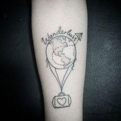 Comercialzineo do dia! Wanderlust ✈  #tattoo #javahtattoofamily #tatuagemfeminina #wanderlust #comercial #cutetattoo #tattooedgirls #inkedup #tattooinspiration #love #lovetattoos #tattoorj #likeforlike #instagood #sdv #art #californiatattoo #inmaliwetrust #inkmali
