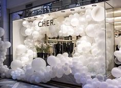 Overflowing with balloons, great for a launch party 🎈 . Ballon Decorations, Birthday Party Decorations, Wedding Decorations, Birthday Parties, Balloon Wall, Balloon Garland, Balloon Arch, Balloons Galore, Baby Shower Deco