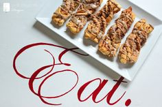 maple pecan crescent twists | Inspired by Charm