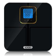 iDOO Multifunction Bluetooth Scale Measuring in Body Fat Hydration Muscle Mass Bone Mass BMI Calories Body Composition Monitor -- Find out more about the great product at the image link.