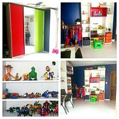 Brinquedoteca e closet