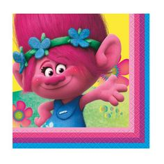 Trolls Beverage Napkins, 16ct, Napkins - Amazon Canada