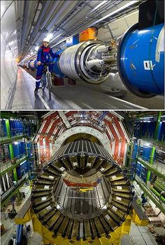 Large Hadron Collider - World's Largest and Highest-energy Particle Accelerator #lhc #hadron #cern #supercollider #collider #particle #accelerator