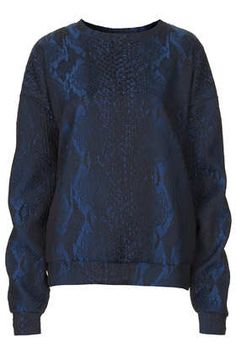 Textured Snake Sweat by Boutique.. ssspectacular :P