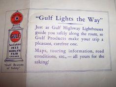 Gulf highway lighthouse