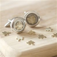 'Love You To Pieces' Personalised Cufflinks. Gifts for Men from Oh So Cherished