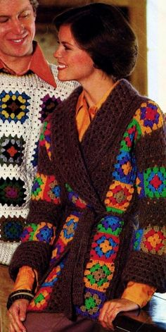 Stunning Granny Square Cardigan Pattern Ideas