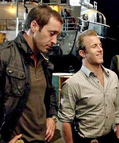 Alex and Scott