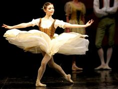 """Alina Cojocaru as the title role in London Royal Ballet Company's """"Giselle Berthilde of Innocence the Willis."""""""