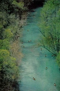 Buffalo River, Arkansas National Geographic | March 1977.  My favorite place to kayak camp!!