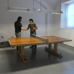 8 Cosas Geniales Que Queremos En Nuestras Oficinas #66  Ping Pong Cool Dining Room Ping Pong Table 2018