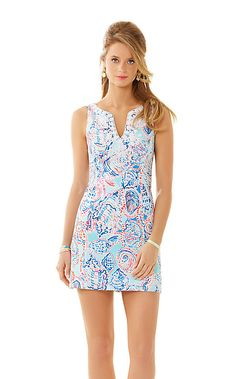 Lilly Pulitzer- Gabby Shift Dress in Shell Me About it