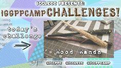 Iggle Craft Challenges: IGGPPCamp Edition Day 5 – Wood Wands! | International Geek Girl Pen Pals Club #IGGPPC #IGGPPCamp