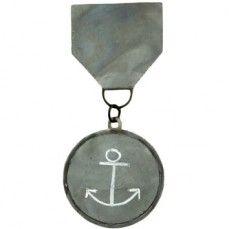 Large Zinc Medal