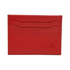 #FashionVault #perry ellis #Women #Accessories - Check this : Original Penguin LEATHER CARD WALLET for $15.99 USD