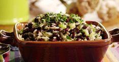 Cette salade de riz est tellement fraîche... Idéale pour les canicules qui s'en viennent!