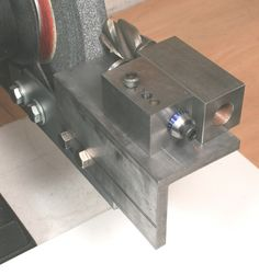 End Mill Sharpening Fixture
