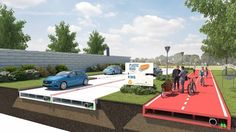 Roads made from recycled plastic are paving the way to a greener tomorrow