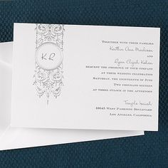 Silver Chandelier - Invitation weddingneeds.carlsoncraft.com