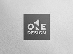 Logo // One Design // Gestalt Theory on Behance