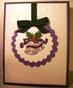 Christmas CAS card... Lena by tackertwosome - Cards and Paper Crafts at Splitcoaststampers