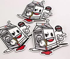 Spill My Milk Stickers