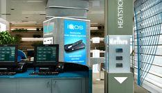 IQOS Flagship Store, Chiado - Lisboa   Philip Morris on Behance Camera Store, Graphic Design Services, Keep It Cleaner, Locker Storage, Behance, Home Decor, Lisbon, Tecnologia, Decoration Home