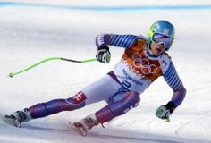 DAY 8:  Adam Zampa of Slovakia competes during the Alpine Skiing Men's Super Combined http://sports.yahoo.com/olympics