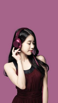 IU for Sony's Headphones