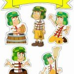 Topo de Bolo de Papel Chaves 2 Aesthetic Stickers, Cake Toppers, Banner, Clip Art, Scrapbook, Cards, Conch Fritters, Paper Envelopes, Princess Theme
